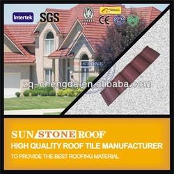Coated Metal Roofing Tile Houses Weber Shingles