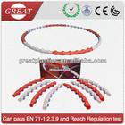 PVC folding magnetic massage hula hoop