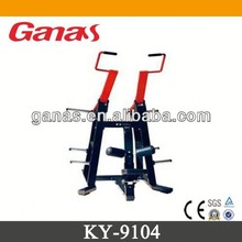 Casting iron & rubber cover upper gym equipment fitness equipment KY-9104/lat pull down