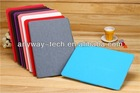 New Arrival Ultra Thin Slim Leather Stand Case For iPad 5 ipad air case