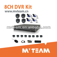Network And Smartphone View Home 8CH Hot Security DVR Kit with IR Camera