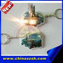 Hot Sell Soft LED PVC Keychain