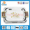 unique rectangular stainless steel wholesale serving trays
