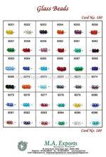 Luster Polish / AV polish glass bead on transparent in flat round