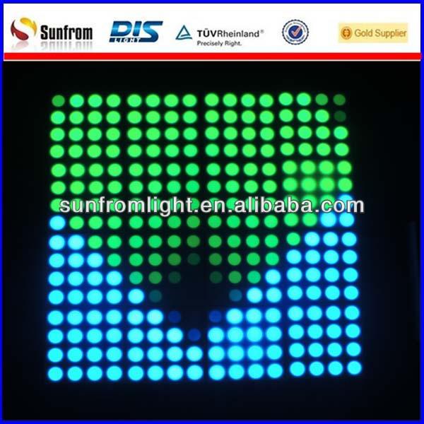 video led dot matrix for disco