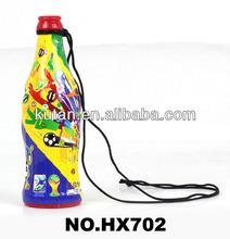 soccer fan bottle horn vuvuzela sport horn soccer cheering horn