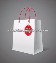 Custom Made High handle company paper bag