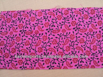 COTTON ROSE PRINTED FABRICS FOR MAKINGS GIRLSWEAR WOMENSWEAR APPARELS FOR KIDS QUILTS ETC. INDIAN ETHNIC LOOK PRINTED FABRICS