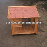 Wood dog room