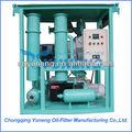 de vacío de aceite del transformador de la deshidratación de aceite del sistema portátil de la planta