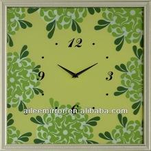 Green wall clock weather forecast clock HD-CM1013