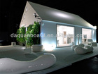Three bedrooms and one kitchen prefab living homes in prefab houses