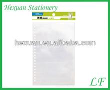 pocket file/display pocket pp clear book file folder/a3 file folder pocket