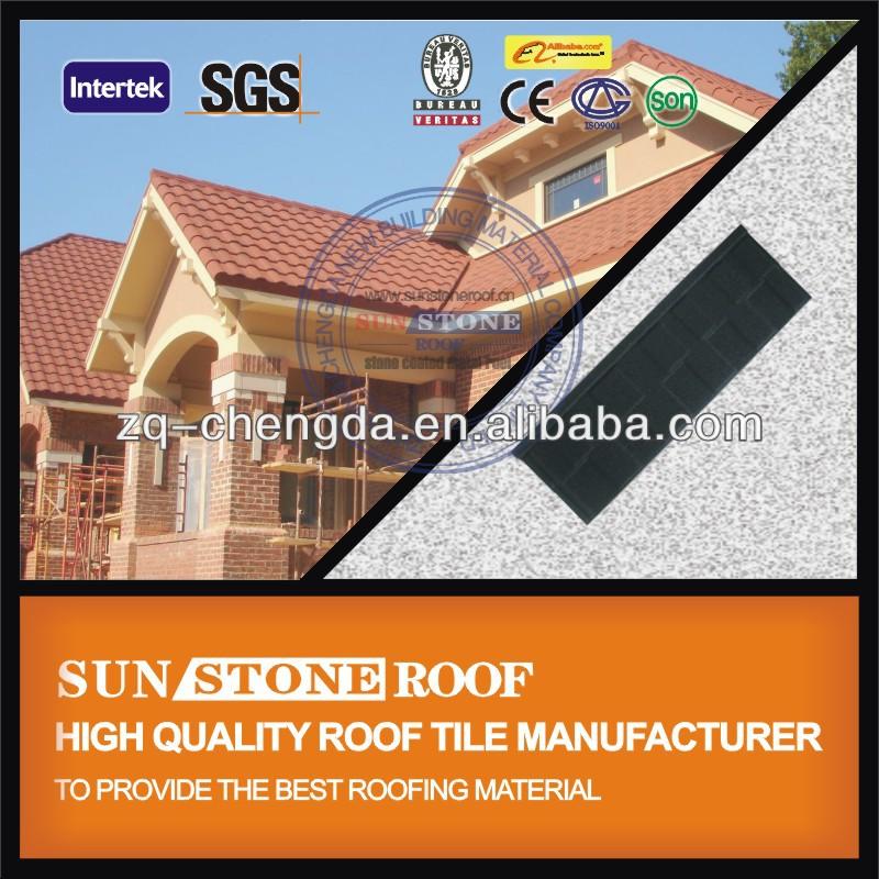 Aluminum Zinc Asphalt Shingle Roof Weight Manufacturer
