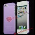 Für iphone 5 kunststoffabdeckung! #ip5- 4221f# neue ultradünnen transluzenz hart rückseitige cover für iphone 5 5. 5g