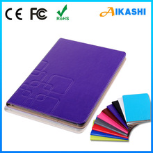 For genuine leather ipad case with book style