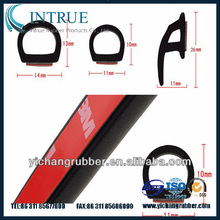 rubber door trim seal for car/auto