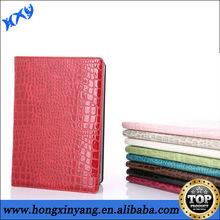 2013 Hot crocodile leather case for ipad air