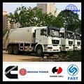 alta qualidade da china shacman 10 roda 6x4 baratas de transporte de lixo do caminhão