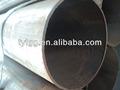 de hierro negro especificaciones de la tubería de acero al carbono tubería proveedor de china