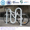 M style galvanzied bike rack for parking bikes in factory