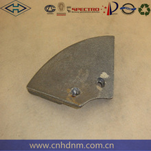 High manganese asphalt mixer paddle Dana Parker 114 small leaves for construction machineElba, BHS,