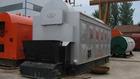 wood pellet coal, biomass fuel burner steam and hot water boiler
