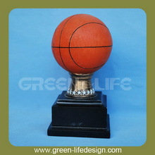 Polyresin Basketball trophy cup