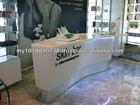Bensonit solid surface reception desk manufacturer