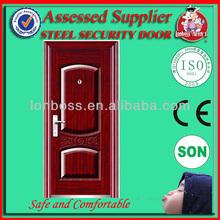 LBS-8818china steel door low prices kerala steel door