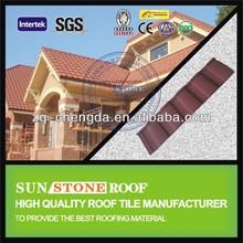Galvalume Steel Red Asphalt Shingles Roofing Sheets