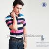 Wholesale man's striped short sleeve cheap plain dri fit polo shirts