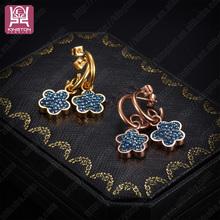 new crystal drop earrings for girls
