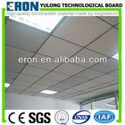 Aluminum pvc laminated gypsum ceiling tiles
