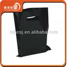 XHFJ NEW fashion black plastic bags 2014