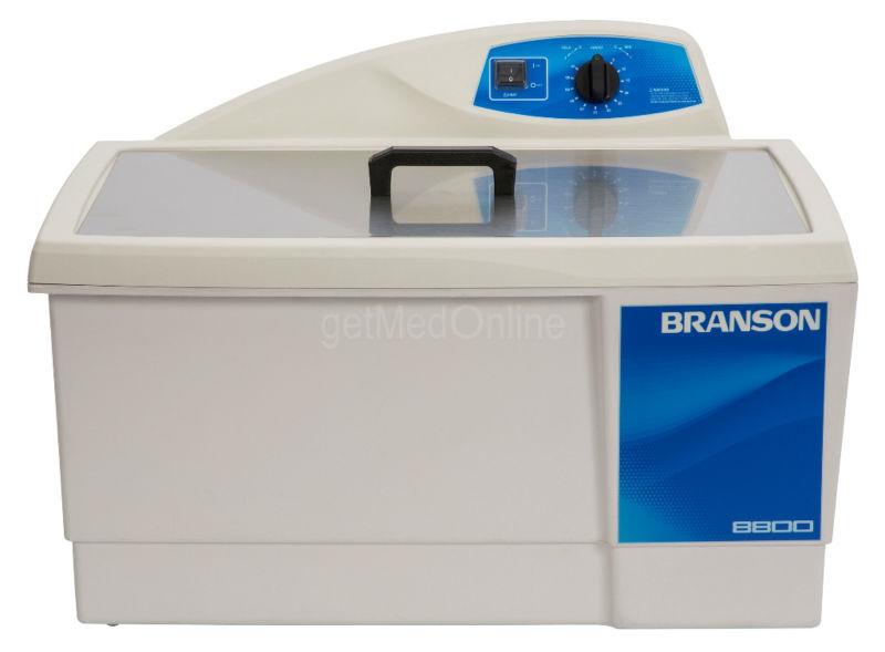 Branson M8800H 5.5 gal. limpiador ultrasónico climatizada w / 60 minutos temporizador mecánico, CPX-952-817R