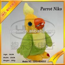 talking parrot toy