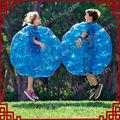 parachoques popular juego azul giga pelota inflable para la venta