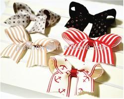 bow flower infant headband, baby girl headband, headbands for baby girls
