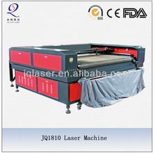Autofeeding fabric laser cutting machine with 1800mm width