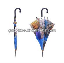 Promotional Advertising Company Logo Straight umbrella form printing company