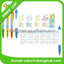 Hot design promotional retractable banner pens