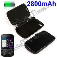 2800mAh Power Bank Extended Battery Case for Blackberry Q10