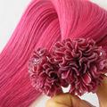 Pleine cuticule kératine extension de cheveux