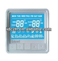 Modbus underfloor heating room thermostat with DIY color