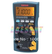 SANWA PC773,87,11000 Count Minimum resolution 0.01mV,0.01ohm Digital Multimeters,fast, free shipping by EMS/DHL/TNT/FEDEX