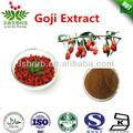 Tonificar el hígado y el riñón/wolfberry extracto de bayas de goji extracto/10-50% polisacáridos