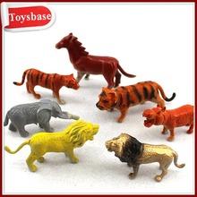 Plastic animal figurine toys