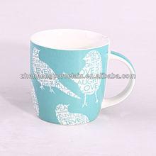 Factory direct 12oz coffee mug&ceramic mug with Pretty design
