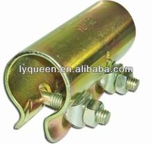 Metail giratorio y doble de andamios abrazaderas sujetador